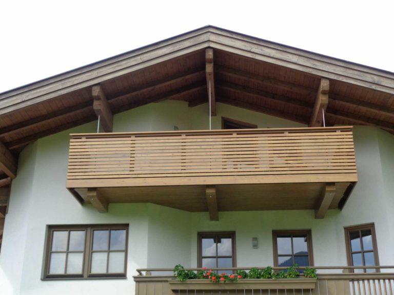 Balkon in Hochfilzen