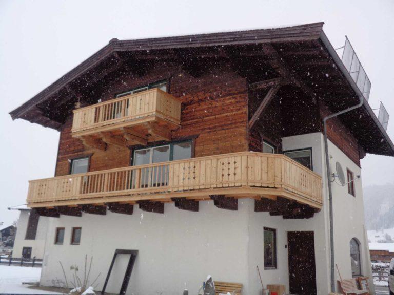 Balkon in Fieberbrunn