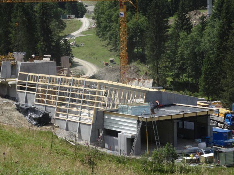 Neubau Liftstation für Gondelbahn in Fieberbrunn