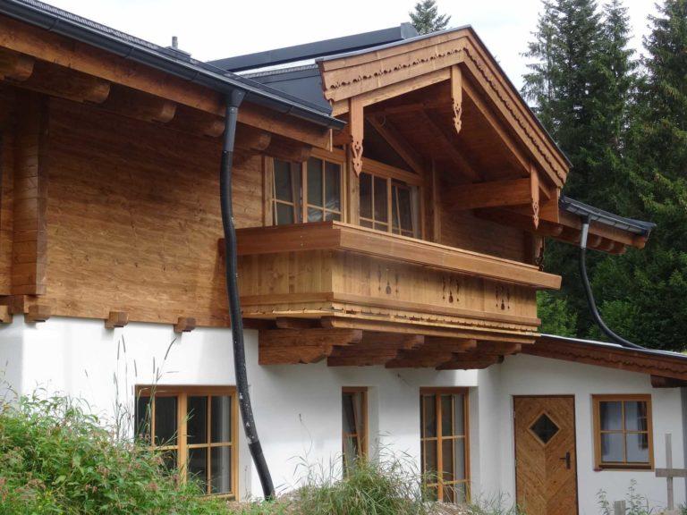Dachstuhl in Fieberbrunn