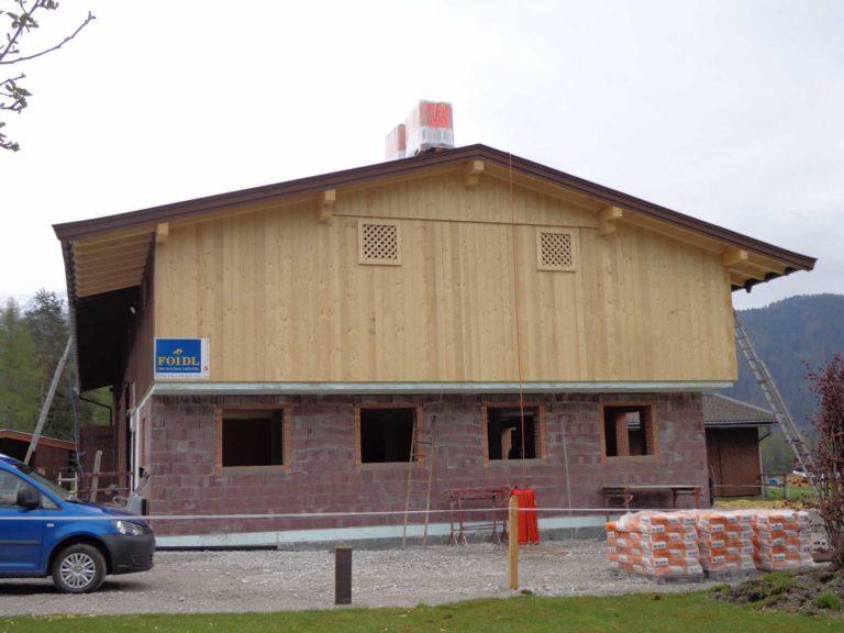 Stallzubau in St. Ulrich am Pillersee