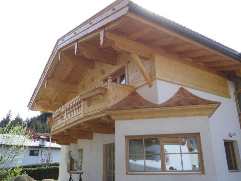 Dachstuhl und Fassade in Oberndorf