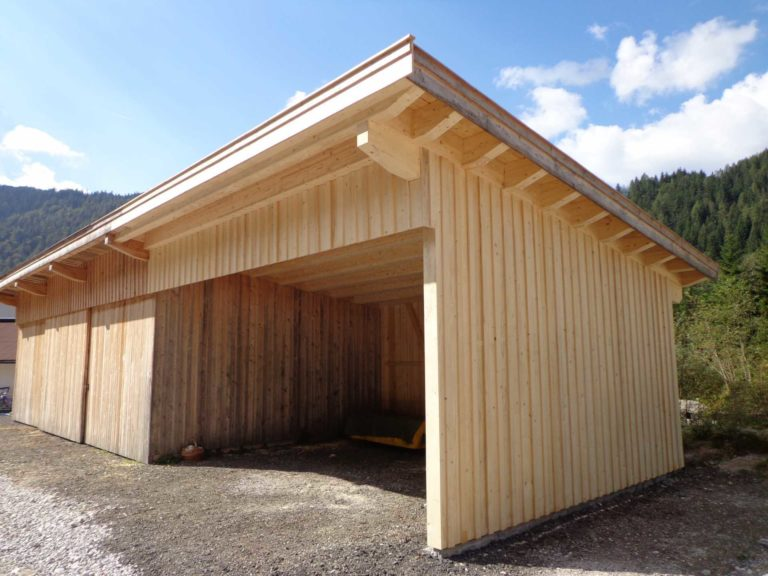 Erweiterung landwirtschaftliche Lagerhalle in St. Ulrich a. P.