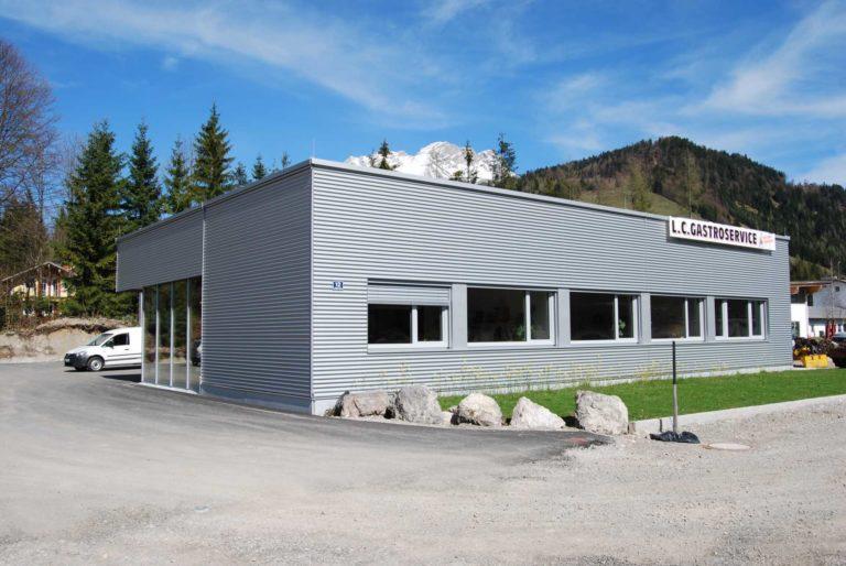Betriebsgebäude in Hochfilzen