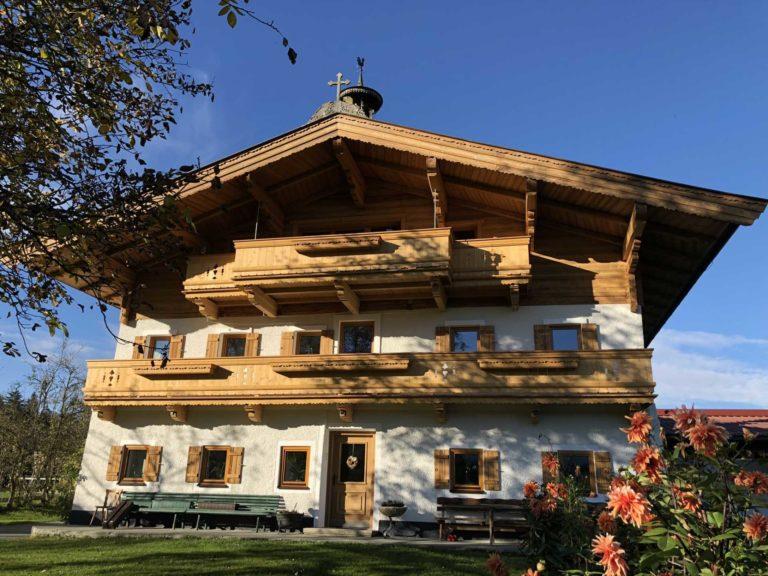 Umbau in Oberndorf in Tirol