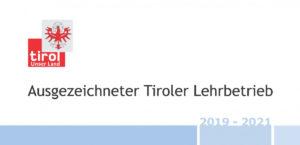 Holzbau Foidl - Ausgezeichneter Tiroler Lehrbetrieb