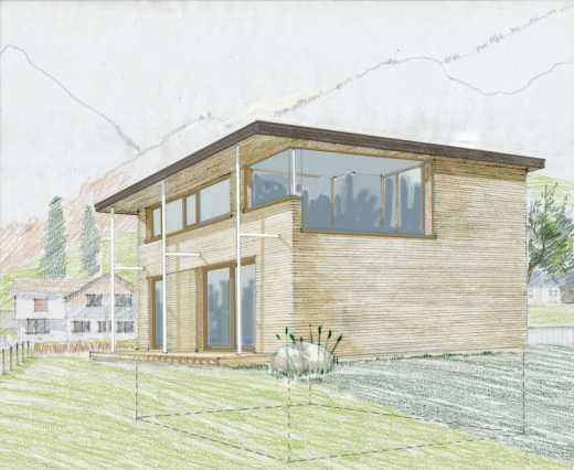 Der Holzhaus Konfigurator